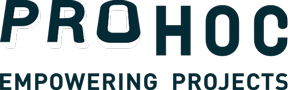Prohoc: logo with slogan, Empowering Projects